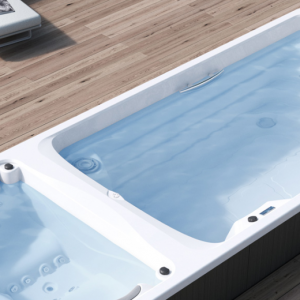dual hot tub swim spa hypa aquavia my world of wellness wellis hydropool