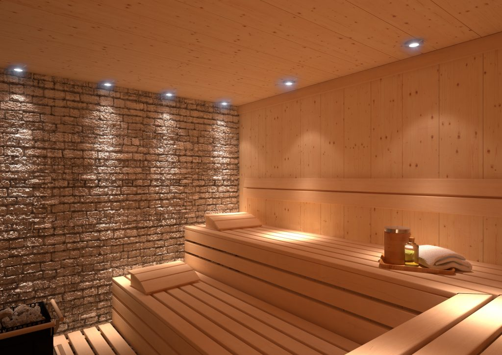 domestic sauna