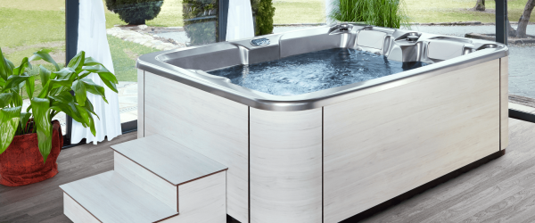 the hot tub for couples. Hot tubs and swim spas in stock
