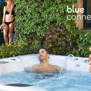 blue connect apple iphone android hypa spa aquavia my world of wellness