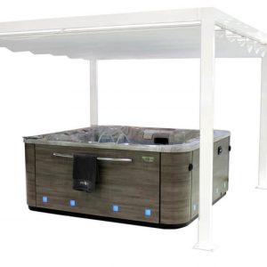 hot tub pergola hypa spa aquavia my world of wellness